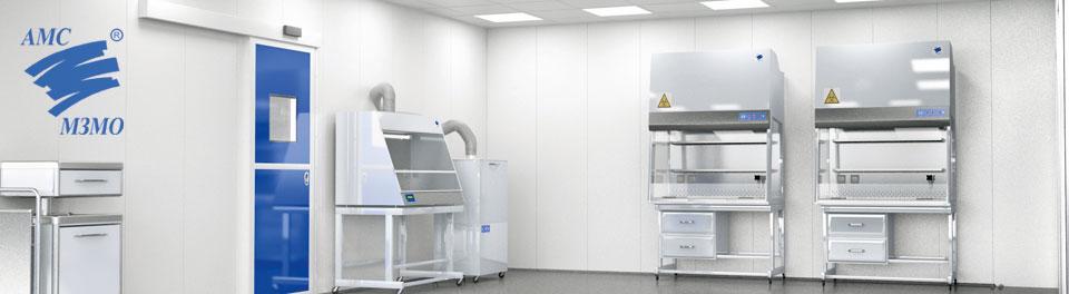 Чистые помещения АМС-МЗМО по стандарту GMP